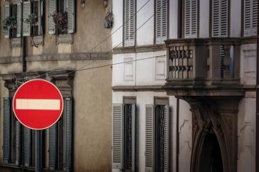 Via Pignolo, Bergamo, Italy